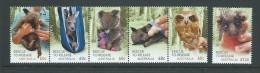 Australia 2010 Native Fauna Rescue Programmes Set 6 MNH - Mint Stamps