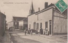 51 - LOISY SUR MARNE - LA POSTE ET RUE DE CHOISET - France