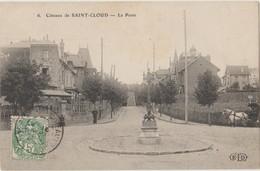 Cpa ( 92 Hauts-de-seine) Coteaux De Saint-cloud , La Poste 1907 - Saint Cloud