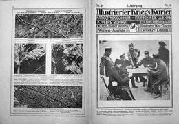 ILLUSTRIERIER KRIEGS-KURIERR ( COURRIER DE GUERRE) Nr.6 -3. Jahrgang - Revues & Journaux