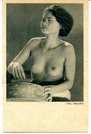 Jeune Beauté Bali Indonesie UFA Film Allemagne Seins Nus Nues Vintage Gravure - Asien