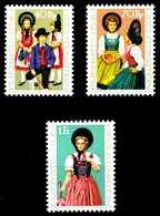 LIECHTENSTEIN 1977 Nr 684-686 Postfrisch X1A2756 - Liechtenstein