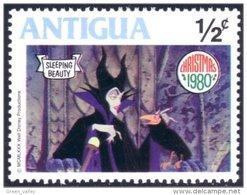 142 Antigua Sleeping Beauty Belle Bois Dormant Witch Sorciere MNH ** Neuf SC (ANT-91b) - Märchen, Sagen & Legenden