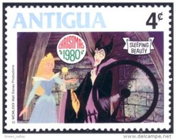 142 Antigua Belle Bois Dormant Sleeping Beauty Witch Sorciere MNH ** Neuf SC (ANT-94a) - Disney