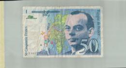 Billet De Banque  FRANCE  50 FRANCS  Serie F   1993   DEC 2019 Gerar - 1992-2000 Ultima Gama