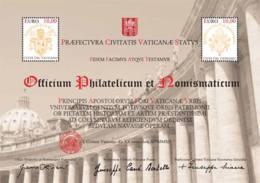 Vaticano 2012 Colonnato Sass.BF110 **/MNH VF - Blocchi E Foglietti