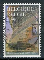 BELGIQUE 2002 / COB N° 3147 VAN DE VELDE OBL. - Belgique