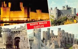 NORTH WALES Castles - Wales