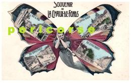 La Chaux De Fonds  Souvenir  ( Carte Multivues ) - NE Neuchâtel