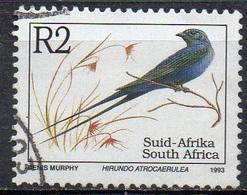 AFRIQUE DU SUD N° 822 Y&T O 1993 Hirondelle (Hirundo Atracroerugea) - Sud Africa (1961-...)