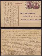 Waltrop - Wanne Eickel Frageteil Ganzsache 15 Pfg. Mit Zusatzfrankatur  (10187 - Postzegels