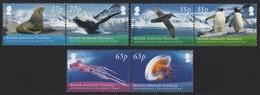 BAT / Brit. Antarktis 2009 - Mi-Nr. 509-514 ** - MNH - Fauna - Ungebraucht