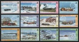 BAT / Brit. Antarktis 2003 - Mi-Nr. 357-368 ** - MNH - Forschungsstationen (II) - Ungebraucht