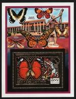 Kongo-Brazzaville 1991 - Mi-Nr. Block 62 A ** - MNH - Schmetterling / Butterfly - Kongo - Brazzaville