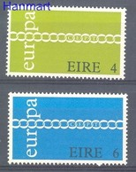 Ireland 1971 Mi 265-266 MNH ( ZE3 IRL265-266 ) - 1971
