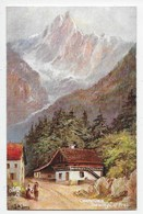 L.M. Long - Chamonix - The Village Of Praz - Tuck OIlette 7485 - Tuck, Raphael