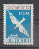 INDIA CE AFINSA IMPOSTO POSTAL - NOVO - India Portuguesa