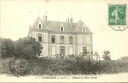 PLERGUER  -- Château Du Haut-Ménil                                            --  Sorel 11 - France
