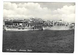 1982 - BRINDISI STAZIONE PORTO 1958 NAVI BOAT SHIP - Brindisi