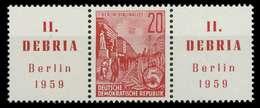 DDR ZUSAMMENDRUCK Nr WZd21 Postfrisch 3ER STR X00E852 - [6] Repubblica Democratica
