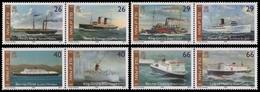 Isle Of Man 2005 - Mi-Nr. 1203-1210 ** - MNH - Schiffe / Ships - Grossbritannien