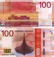 NORWAY, 100 KRONER, 2016, P54, UNC - Norvegia