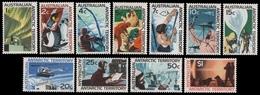 AAT / Austral. Antarktis 1966 - Mi-Nr. 8-18 ** - MNH - Freimarken - Australisches Antarktis-Territorium (AAT)