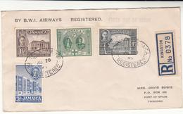 Jamaica / Airmail / B.W.I. / Trinidad / 1945 Stamps - Giamaica (1962-...)