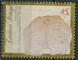 Portugal 1994 Y&T N°1999 - Michel N°2021 (o) - 45e Pierre Sulptée - 1910-... République