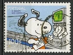Portugal 2000 Y&T N°2447 - Michel N°2465 (o) - 140e Snoopy - Oblitérés