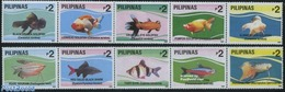 Philippines 1993 Fresh Water Fish 2x5v [::::], (Mint NH), Nature - Fish - Peces
