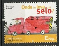 Portugal 2013 Y&T N°(3) - Michel N°3892 (o) - E La Poste - 1910-... République