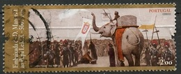 Portugal 2014 Y&T N°(3) - Michel N°3975 (o) - 2€ Visite De L'ambassadeur Manuel I - 1910-... République