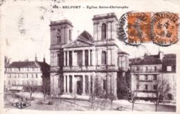 90 - Territoire De Belfort - BELFORT -  Eglise Saint Christophe - Belfort - Ciudad