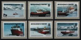 BAT / Brit. Antarktis 2011 - Mi-Nr. 584-589 ** - MNH - Schiffe / Ships - Ungebraucht
