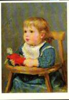 Suisse CP Non-circulée (0057) Albert Anker Mädchen In Kinderstühlchen Aide Suisse Aux Tuberculeux - Peintures & Tableaux