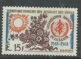 Afars Et Issas N° 336 XX 20ème Anniversaire De L'OM.S. Sans Charnière, TB - Afars Et Issas (1967-1977)
