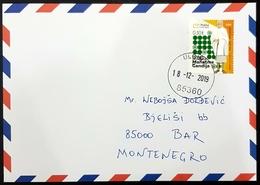 2019 Cover, The 150th Anniversary Of Birth Of Mohandas Gandhi, Ulcinj To Bar, Montenegro - Montenegro