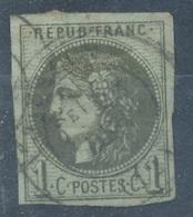 N°39 NUANCE ET OBLITERATION. - 1870 Bordeaux Printing