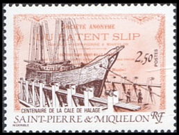1987St Pierre And Miquelon547100th Anniversary Pierce La Sirga2,20 € - Ships