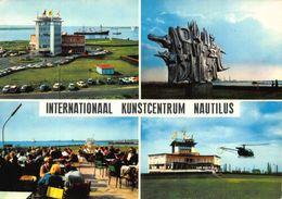 Belgium Internationaal Kunstcentrum Nautilus Helicopter Boats Postcard - Belgique
