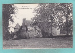 Small Postcard Of Chateau De Keroual,Guilers, Brittany, France,Q119. - Frankreich