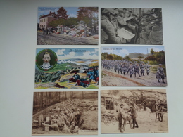 Beau Lot De 20 Cartes Postales Guerre 1914 - 1918  Armée  Soldat Allemand - Oorlog Leger  Soldaten - 5 - 99 Karten