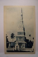 LAOTIENS   - Tombeau D'un Bonze Vénéré - Un Jour Viendra Ou L'art Recevra Le Bapteme - Laos