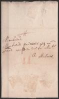 L. Datée 1613 De GANDT Pour MALINES - Port II à La Craie - 1598-1621 (Pays-Bas Indépendants)