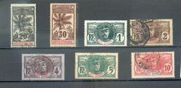 CoDi 401 - YT 21-22-23-24-25-26 ° Obli / 28 ° Ou (*) ? - Côte-d'Ivoire (1892-1944)