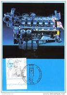 BUND BRD FRG GERMANY - MK MC Maximum Card 46-1997 FDC ---1942 Rudolf Diesel - Motor    (9936) - BRD