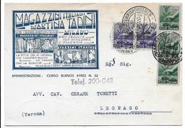 Milano - Magazzini Italiani Martina Tadini (ogni Tessuto Per Arredare L'alloggio). - Milano