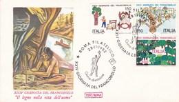 Italy Envelope Prehistoric Man Palaeontology Archaeology - Preistoria