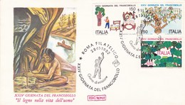 Italy Envelope Prehistoric Man Palaeontology Archaeology - Préhistoire